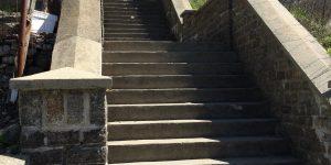 Running the stairs