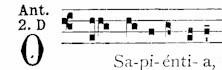 17 Dec O Sapientia