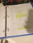 My latest script.