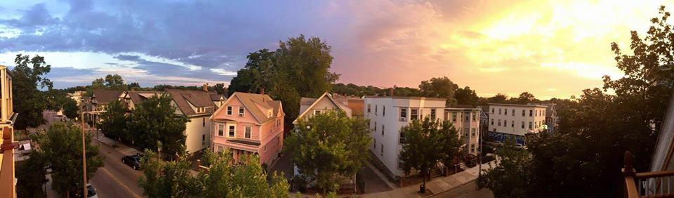 neighborhood sunset