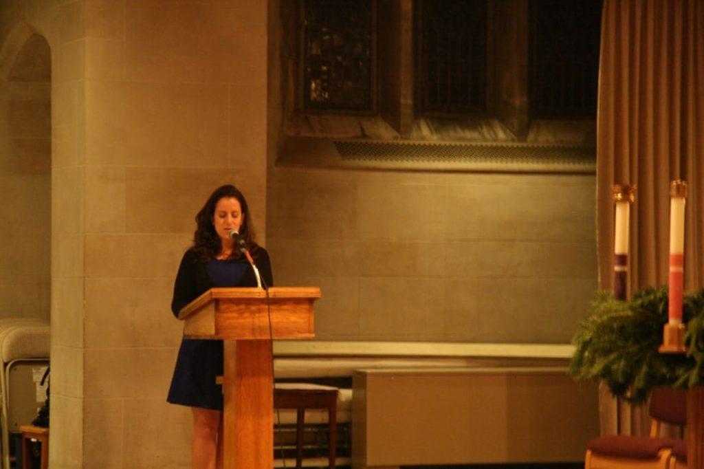Speaking at St Ignatius